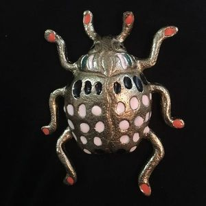 Opalhouse Petite Gold Beetle Wall Decor